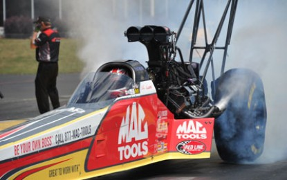Top Fuel points leader Kalitta looking for more success