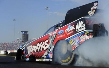 Back-to-back winner Force makes more Funny Car history