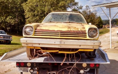 Barn Find in Roanoke, AL; 1977 Vega