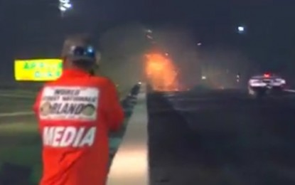 Watch this: Horrific Top End Crash at Orlando Speed World Nationals