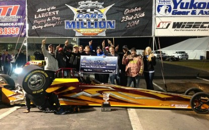 CARS Million Dollar Race Results