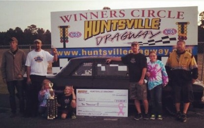 "Huntsville Dragway $10,000 ""Weekend of Wow"" Results"