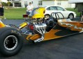 "Dwayne Roberts' New ""Imagine That Customs"" Dragster"