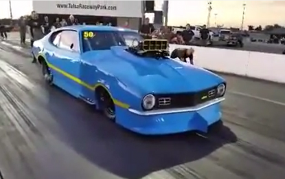 Watch this – the World's Fastest Ford Maverick