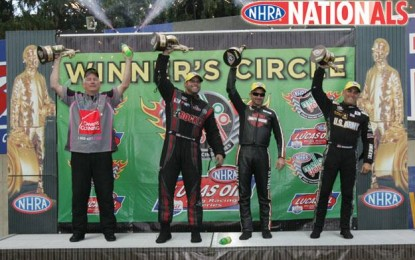 NHRA Maple Grove Results