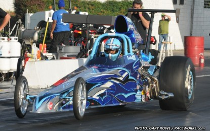 Travis Harvey 2014 PDRA Top Dragster World Champion