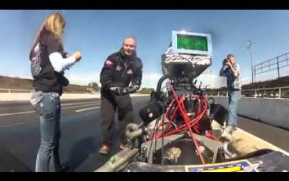 Watch this Marriage Proposal; Drag Racer Cody Graham Pretends Car Breaks and then Proposes