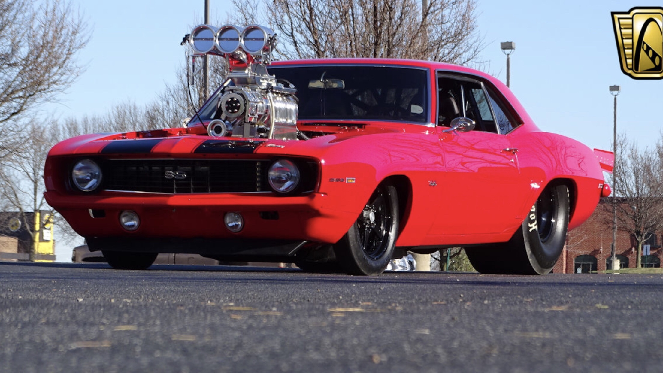 Pro Street Cars >> Gateway Classic Cars Blown 1969 Prostreet Camaro Dragcoverage